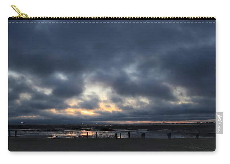 San Lorenzo Carry-all Pouch featuring the photograph There's a Freedom in the Night by Laurie Search