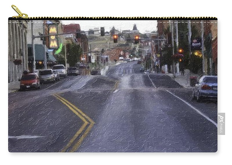 Butte Carry-all Pouch featuring the photograph These Streets Are Made For Walking by Image Takers Photography LLC - Laura Morgan