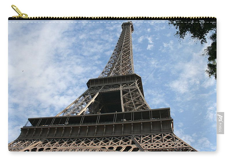 Paris Carry-all Pouch featuring the photograph Things Are Lookin' Up by Quin Sweetman