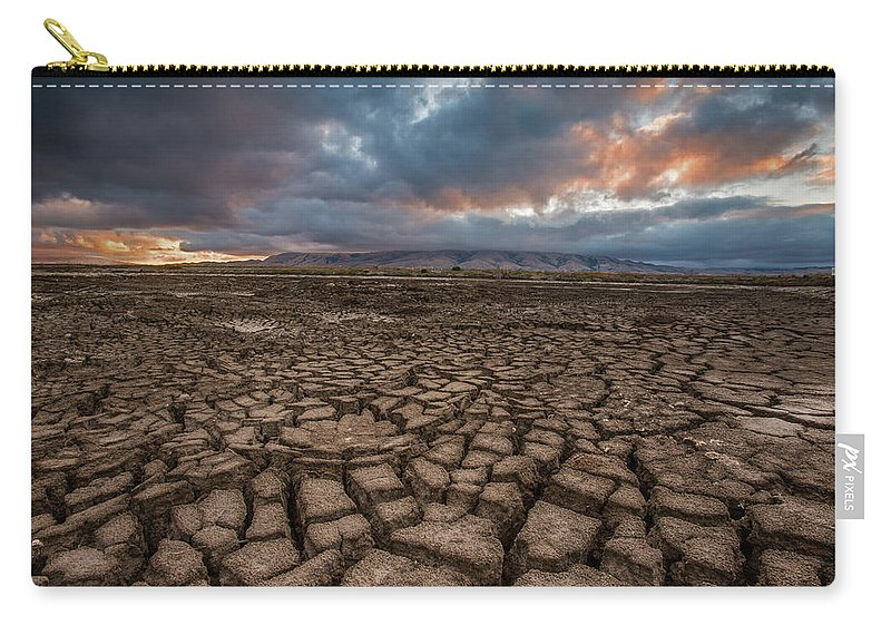 Tranquility Carry-all Pouch featuring the photograph Thirsty by Aaron Meyers