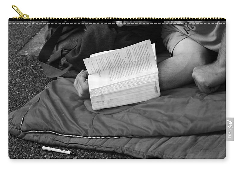 Street Photography Carry-all Pouch featuring the photograph Thirteen Dreams by The Artist Project
