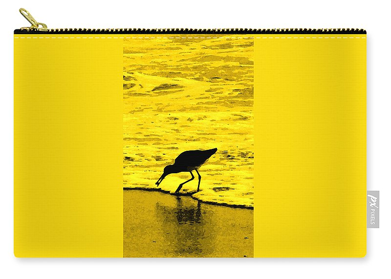 Florida Carry-all Pouch featuring the photograph This Beach Belongs To Me by Ian MacDonald