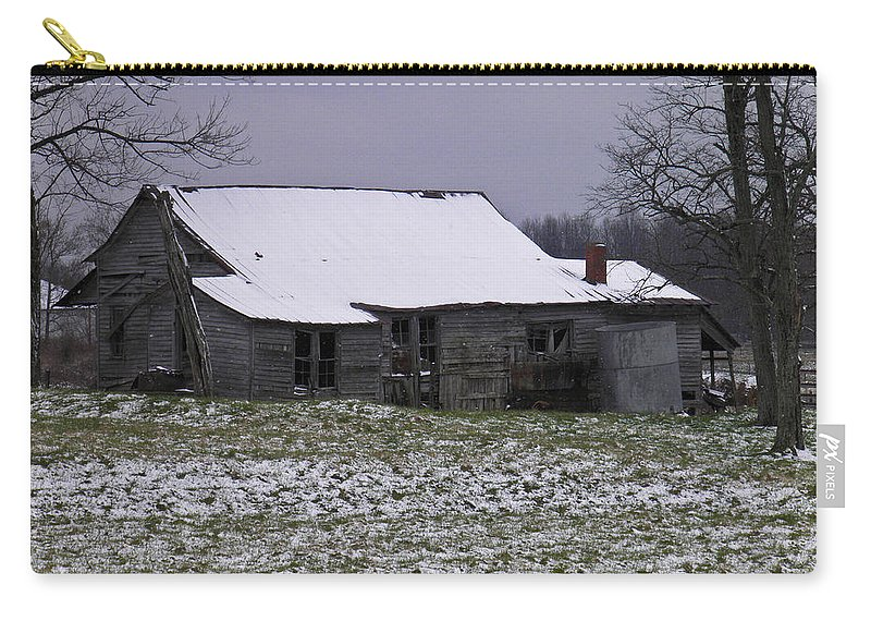 Cold Carry-all Pouch featuring the photograph This Cold House by Nick Kirby