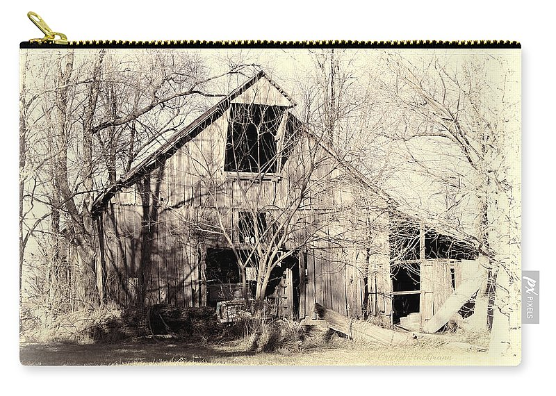 Barn Carry-all Pouch featuring the photograph This Old Barn by Cricket Hackmann