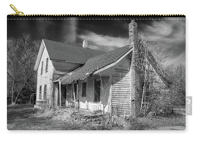 Guy Whiteley Photography Carry-all Pouch featuring the photograph This Old House by Guy Whiteley