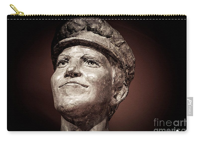 Thomas Edison Carry-all Pouch featuring the photograph Thomas Edison by Grace Grogan