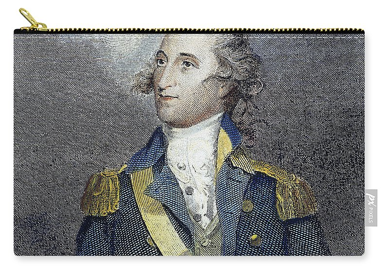 18th Century Carry-all Pouch featuring the photograph Thomas Pinckney (1750-1828) by Granger