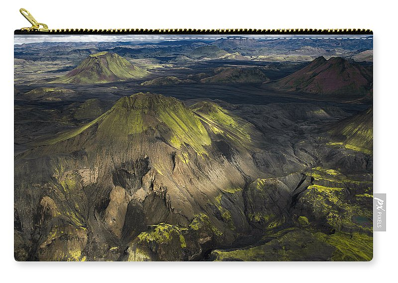 Iceland Carry-all Pouch featuring the photograph Thorsmork Valley In Iceland by For Ninety One Days