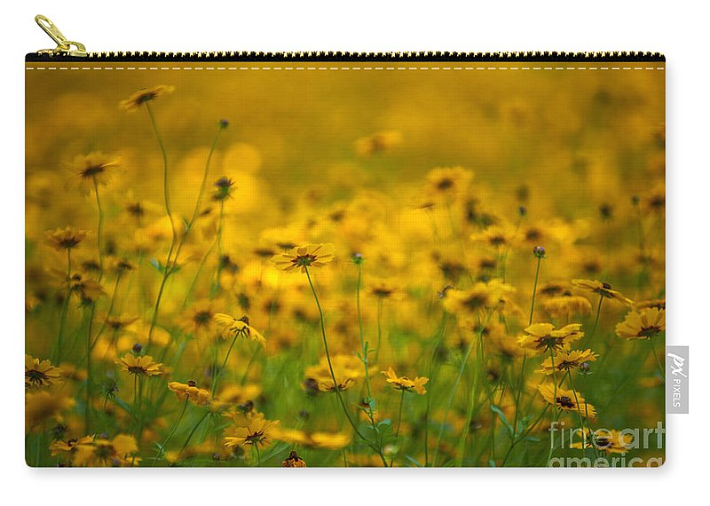 Flowers Carry-all Pouch featuring the photograph Thoughts Of Spring by Dale Powell