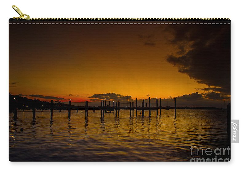 Sea Carry-all Pouch featuring the photograph Thousand Miles by Rene Triay Photography