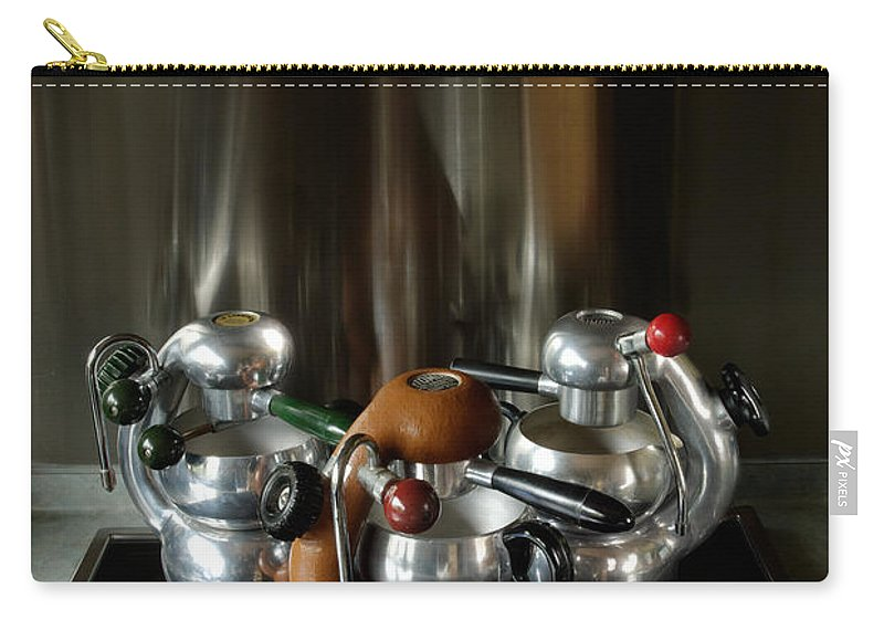 Atomic Carry-all Pouch featuring the photograph Three Atomic 1 by Frank Kletschkus