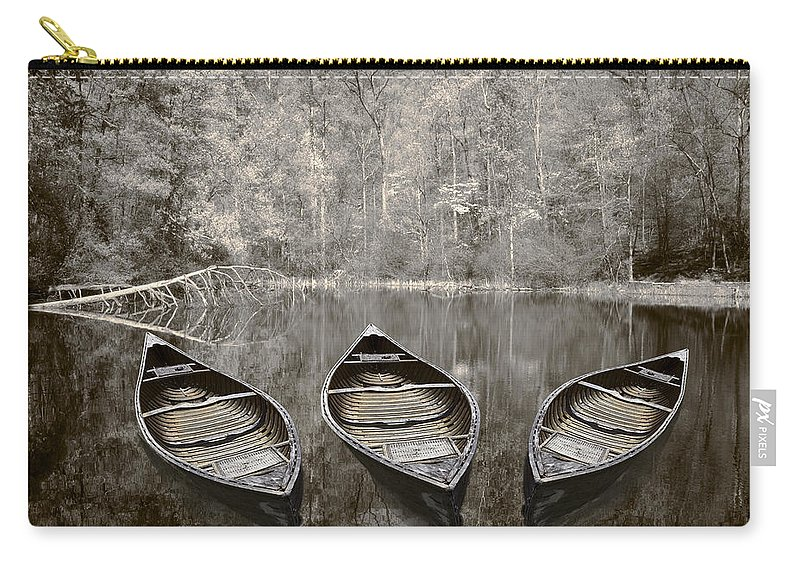 Appalachia Carry-all Pouch featuring the photograph Three by Debra and Dave Vanderlaan