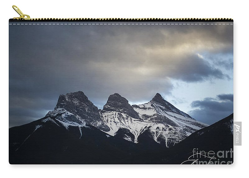 Three Sisters Carry-all Pouch featuring the photograph Three Sisters - Special Request by Evelina Kremsdorf