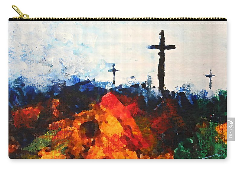 Crosses For Sale >> Three Wooden Crosses Carry All Pouch