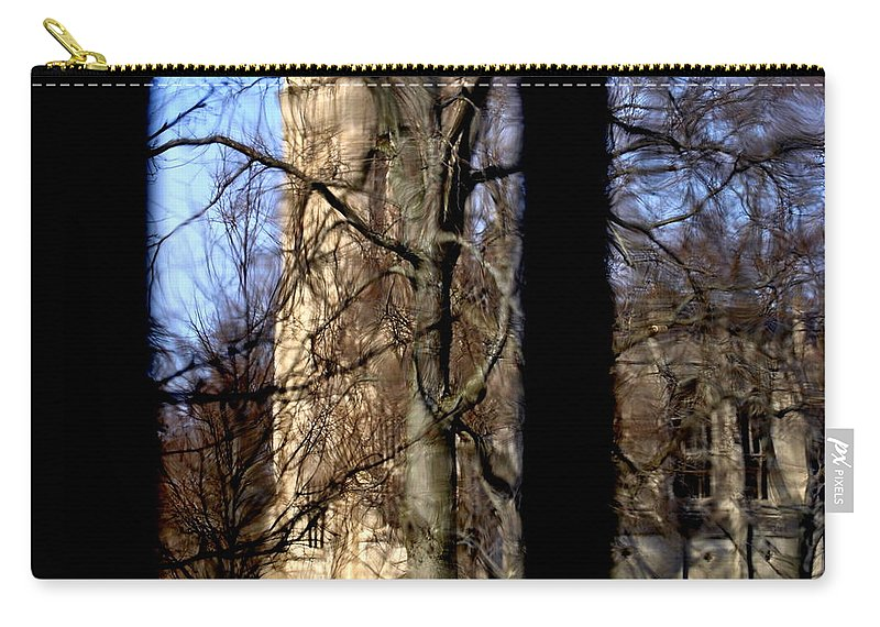 Groton School Carry-all Pouch featuring the photograph Throgh The Window by Marysue Ryan