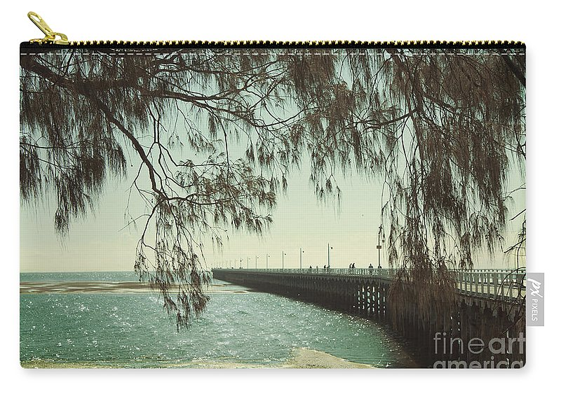 Beach Carry-all Pouch featuring the photograph Through The Casuarina by Linda Lees