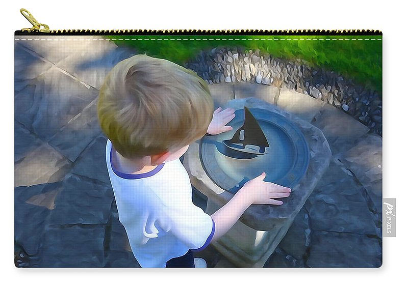 Child Carry-all Pouch featuring the photograph Through The Eyes Of A Child by Charlie and Norma Brock