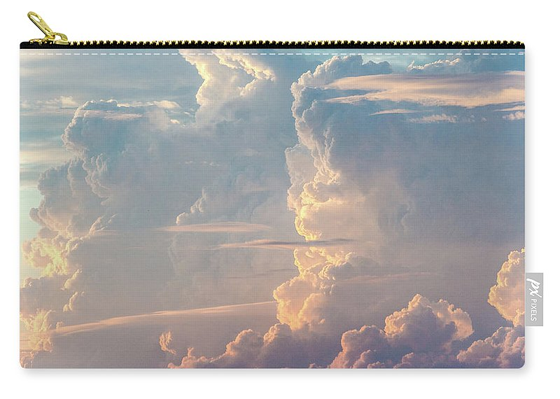 Tranquility Carry-all Pouch featuring the photograph Thunder by Khh 1971