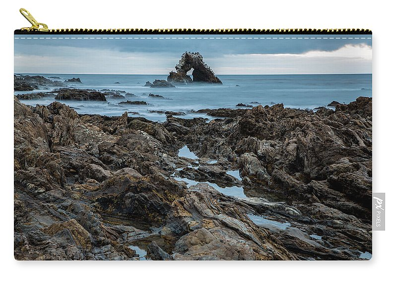 Little Corona Del Mar Carry-all Pouch featuring the photograph Tide Pools by John Daly