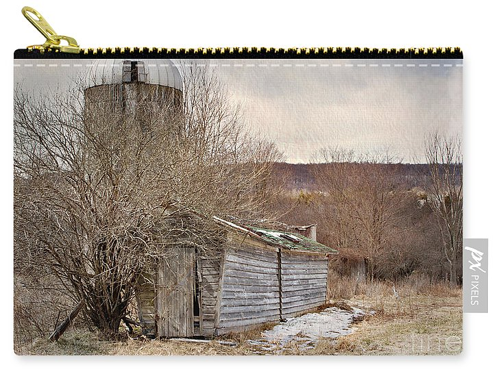 Barn Carry-all Pouch featuring the photograph Time Gone By by A New Focus Photography