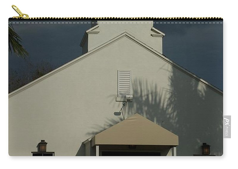 Clock Carry-all Pouch featuring the photograph Time by Joseph Yarbrough