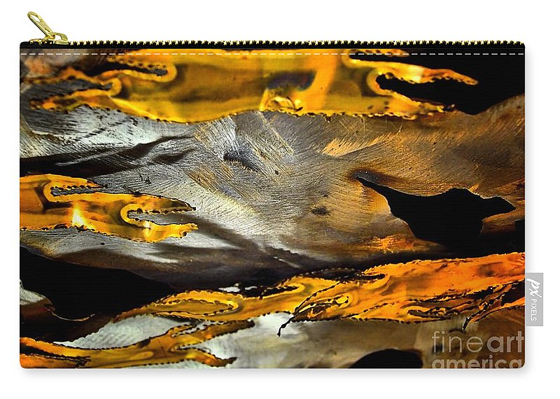 Abstract Carry-all Pouch featuring the photograph Time Passages by Lauren Leigh Hunter Fine Art Photography
