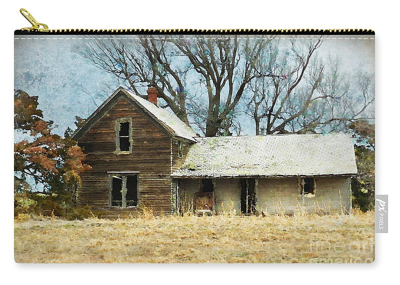 Old House Carry-all Pouch featuring the photograph Time Passed by Betty LaRue