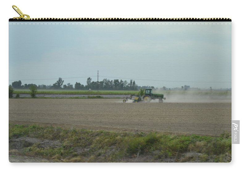 Tractor Carry-all Pouch featuring the photograph Time To Farm by Kim Stafford
