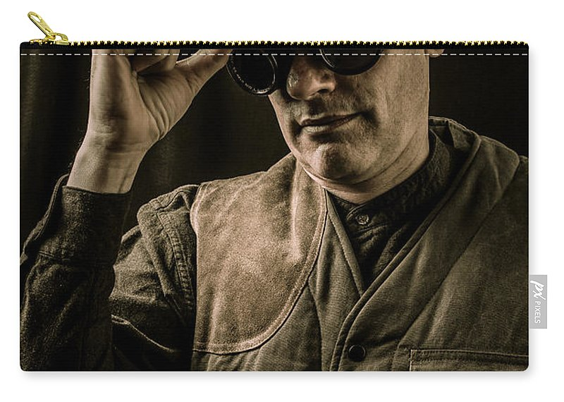 Pith Carry-all Pouch featuring the photograph Time Traveler by Edward Fielding