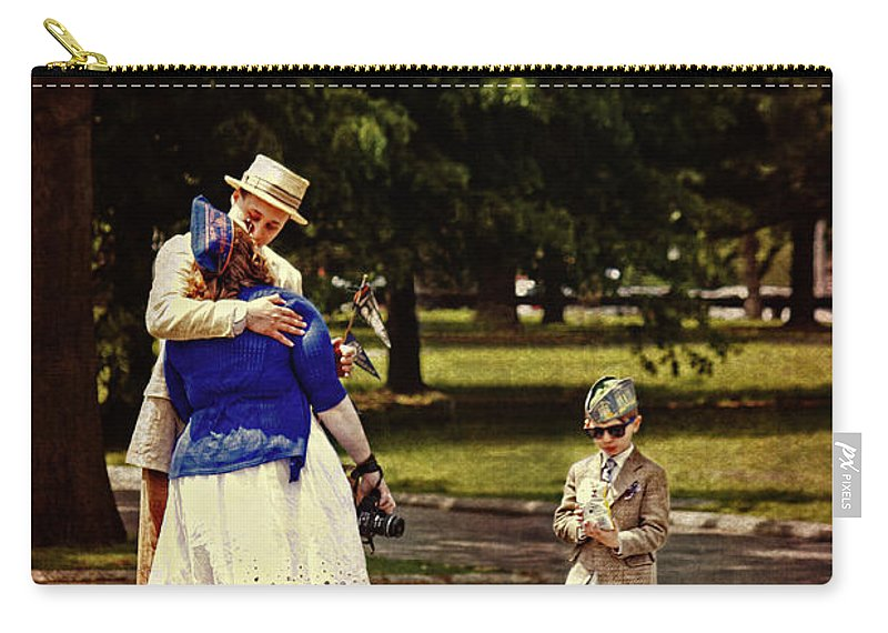 Vintage Carry-all Pouch featuring the photograph Time Travels by Nishanth Gopinathan