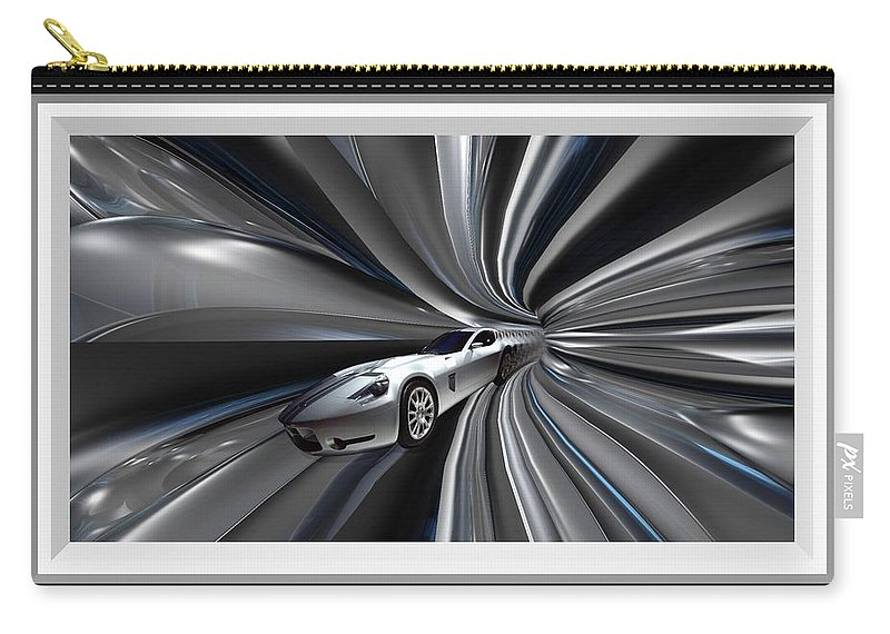 Car Carry-all Pouch featuring the photograph Time Warp by Davandra Cribbie