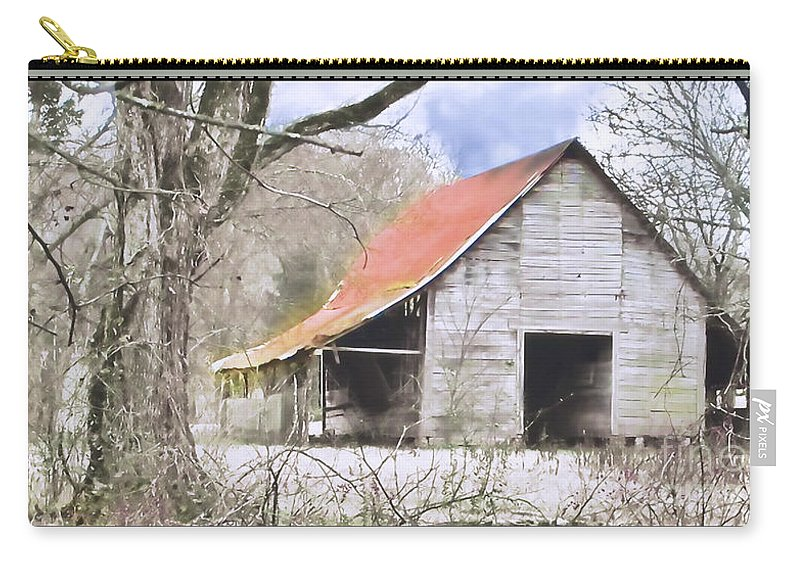 Barn Carry-all Pouch featuring the photograph Timeless by Betty LaRue