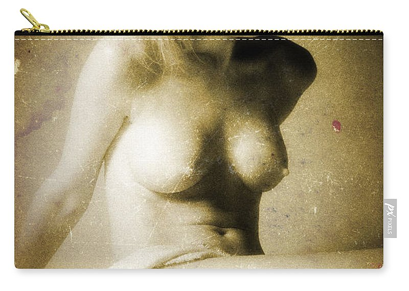 Female Carry-all Pouch featuring the photograph Timeless Form Of Beauty by Timothy Bischoff