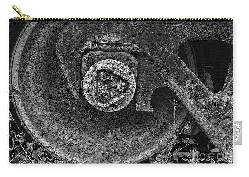 Weeds Carry-all Pouch featuring the photograph Timken by Deborah Benoit