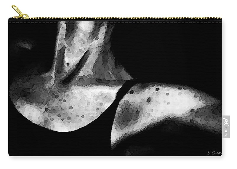 Dance Carry-all Pouch featuring the photograph Tiny Dancer by Sharon Cummings