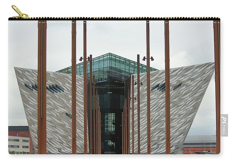 Titanic Museum Carry-all Pouch featuring the photograph Titanic Museum by Robert Phelan