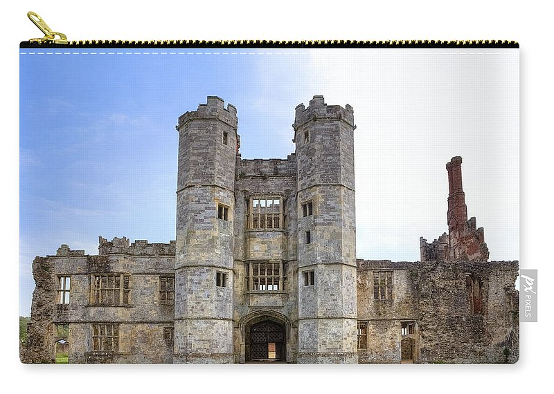 Titchfield Abbey Carry-all Pouch featuring the photograph Titchfield Abbey by Joana Kruse