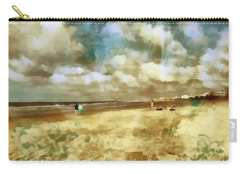 Christian Carry-all Pouch featuring the digital art Titus 2 12 by Michelle Greene Wheeler