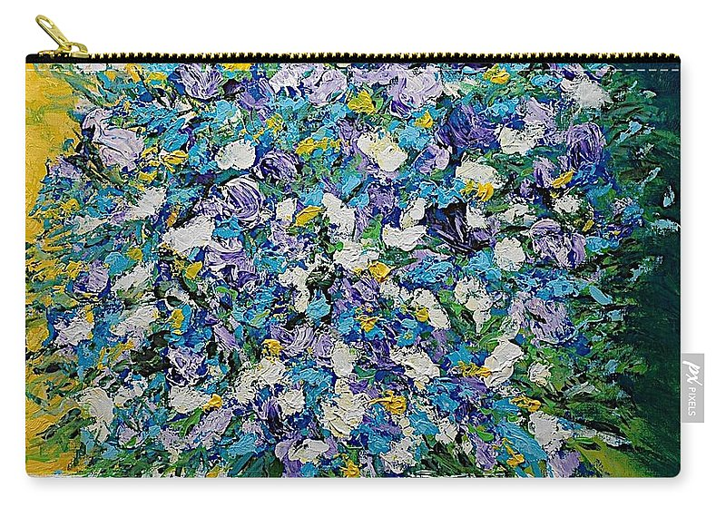 Landscape Carry-all Pouch featuring the painting To Have And Delight by Allan P Friedlander