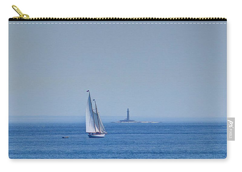Joshua House Photography Carry-all Pouch featuring the photograph To That Far Shore by Joshua House