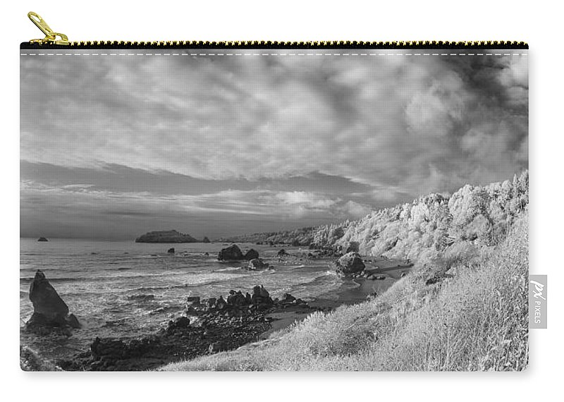 Infrared Carry-all Pouch featuring the photograph To Trinidad Head by Greg Nyquist