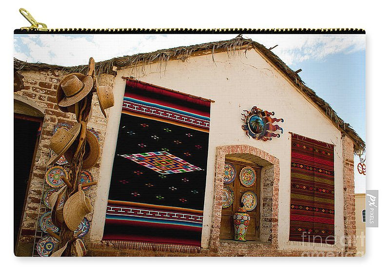 Mexico Carry-all Pouch featuring the photograph Todos Los Santos Market by Ryan Burton
