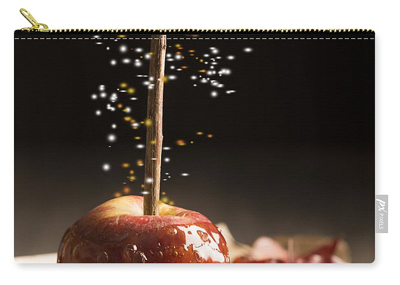 Toffee Carry-all Pouch featuring the photograph Toffee Apple by Amanda Elwell