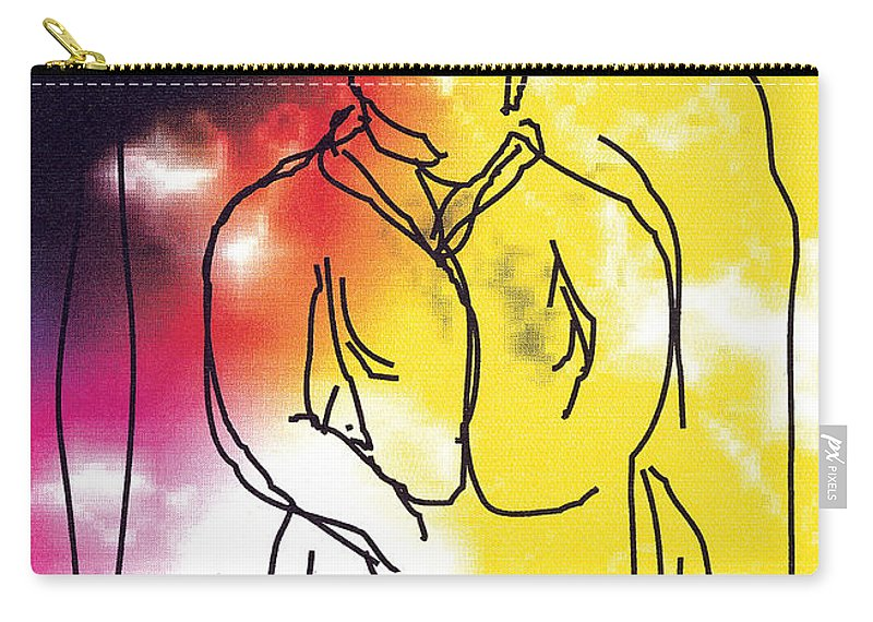 Together Carry-all Pouch featuring the digital art Together by Bjorn Sjogren