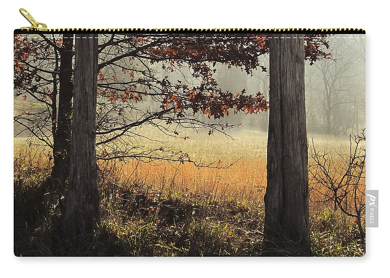Tree Carry-all Pouch featuring the photograph Tommy's Serenity by Trish Tritz