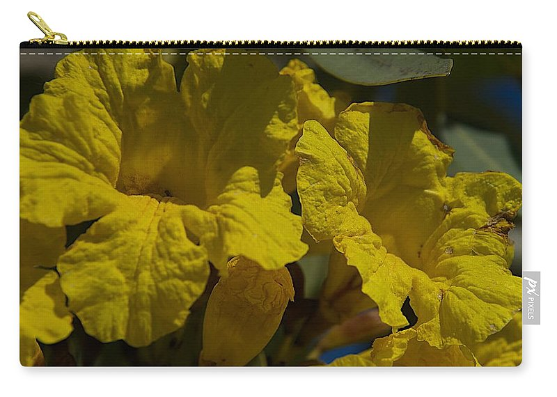 Blossoms Carry-all Pouch featuring the photograph Too Late by Joseph Yarbrough