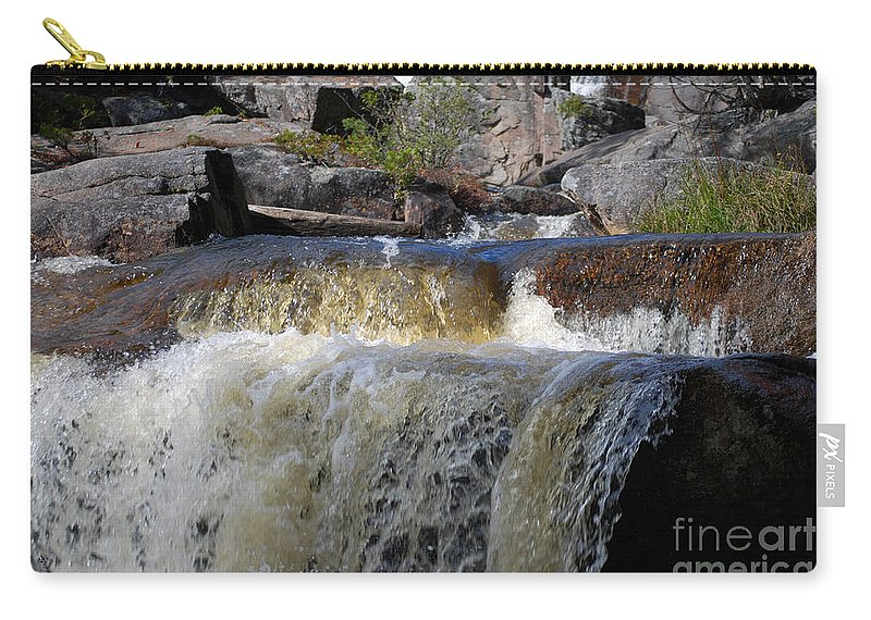 Waterfalls Carry-all Pouch featuring the photograph Too Much 987 by Terri Winkler
