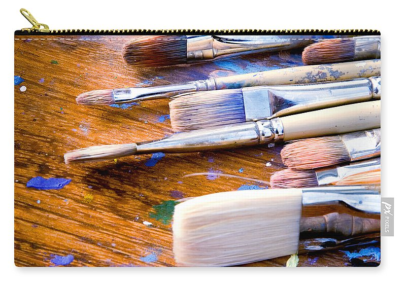 Achievement Carry-all Pouch featuring the photograph Tools Of The Trade by David Kay