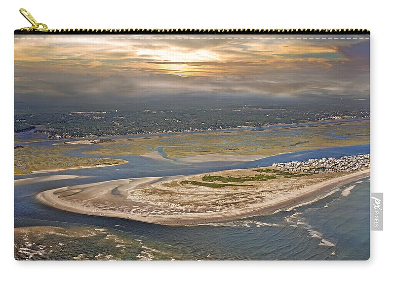 Outer Carry-all Pouch featuring the photograph Topsail Island Paradise by Betsy Knapp
