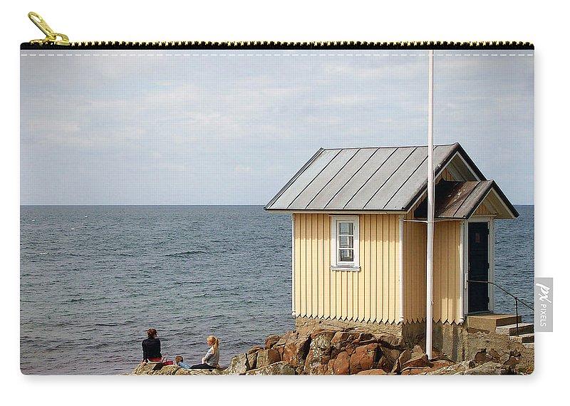 Torekov Carry-all Pouch featuring the photograph Torekov Se 05 by Jeff Brunton